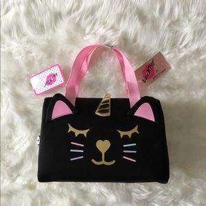 Luv Betsey Johnson Unicorn Cat Lunch Tote